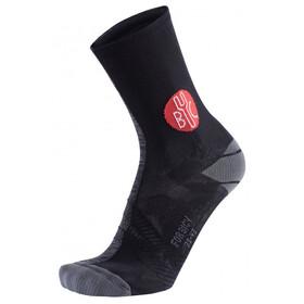 FOR.BICY Harlequin Socks Men Anthracite Melange/Black